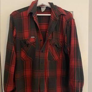 Carhartt Oversized Flannel Button Down Shirt